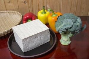 bloc de tofu ferme