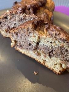 cake marbré santé