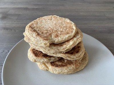 Pancakes pour un petit déjeuner santé