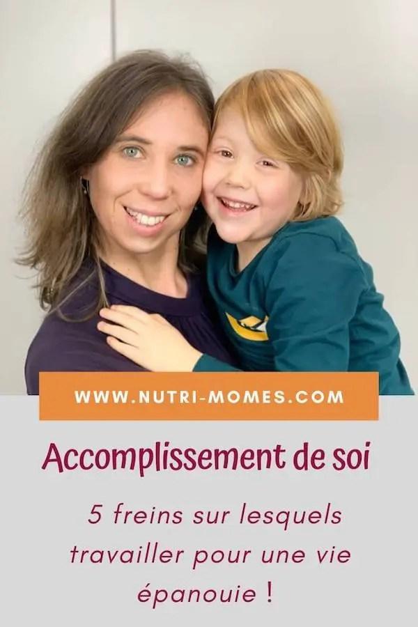 Accomplissement de soi comme maman