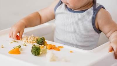 Diversification alimentaire menée par l'enfant : approche DME