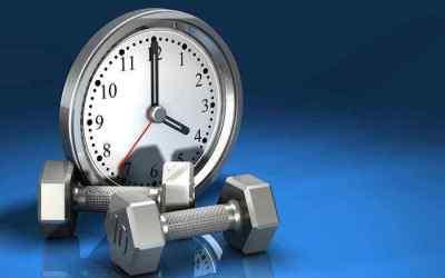 ¿Cuál es la mejor hora para ir a entrenar?