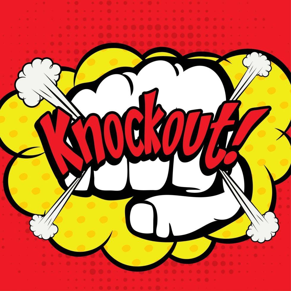 Battle Knockout pop art