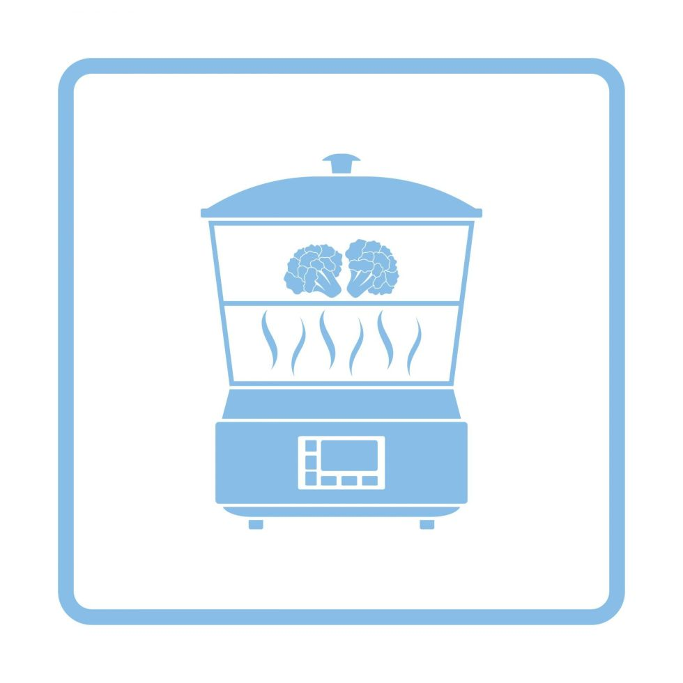 Kitchen steamer icon