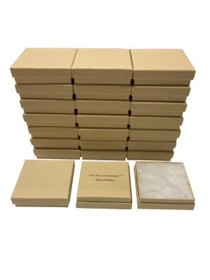 Bamboo Kraft Jewelry Boxes 20 pack