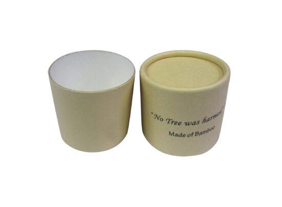 4 oz Bamboo Kraft Cardboard Jars
