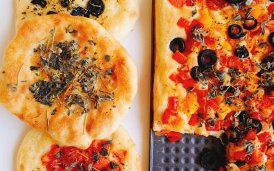 طريقة تحضير خبز الفوكاشيا الايطالي