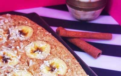 خبز الموز الصحي