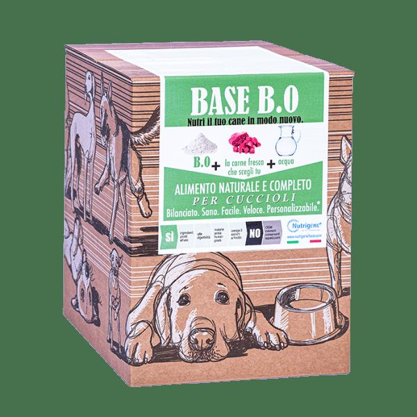 Base B0 alimentazione naturale per cuccioli