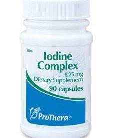 IODINE COMPLEX 6.25 MG 90 CAPS (P01299)