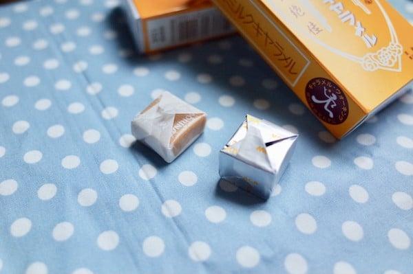 森永牛奶糖-台版-日版-糖果包裝