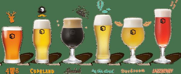 精釀啤酒-SVB-六款基本啤酒