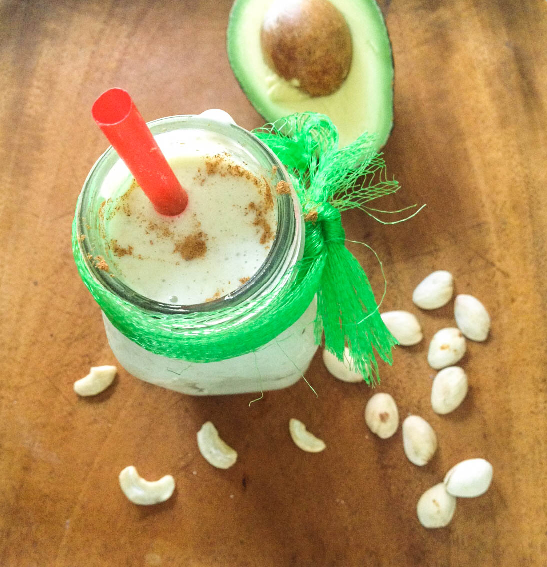 cashew pistach smoothie (1 of 1)