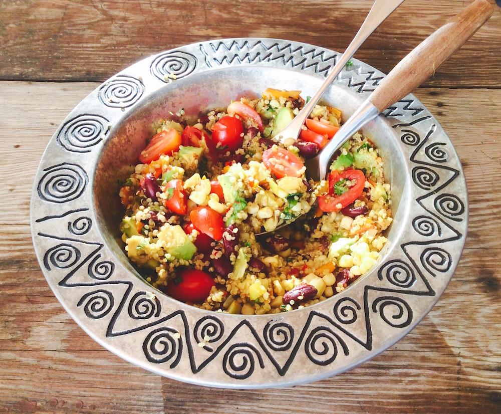 quinoa corn blk bean sal 3