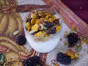 High Protein Pumpkin Spiced Granola