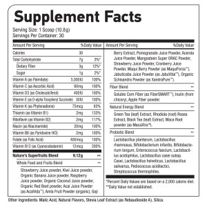 Superfruits_supplement facts