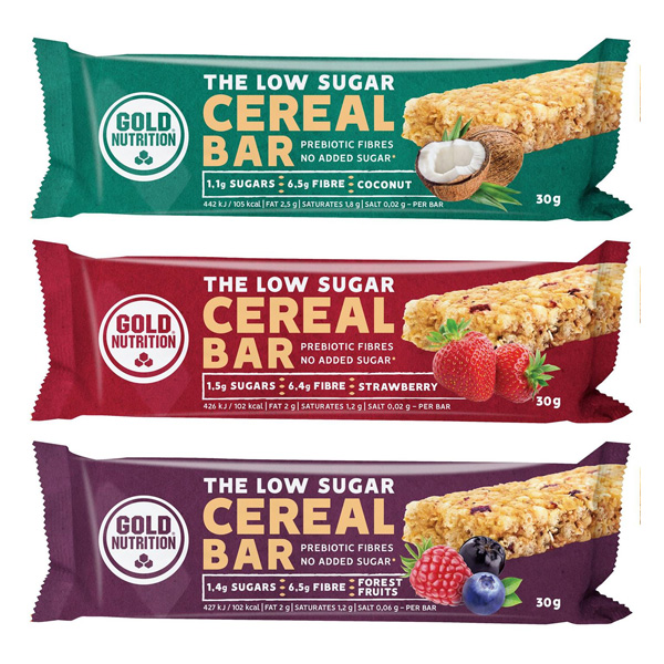 Cereal Bar Gold Nutrition