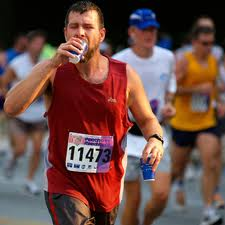 sweaty runner