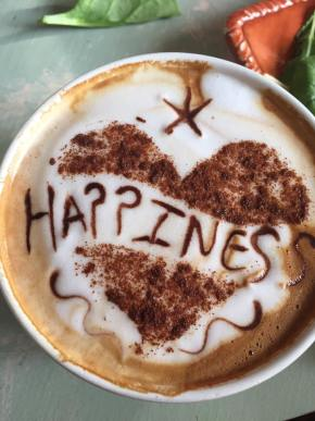 happiness latte
