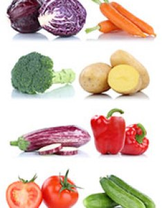 Picture showing eight different types of vegetables also and their nutrition profiles rh nutritionadvance