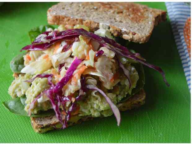Chickpea Salad Sandwich 3
