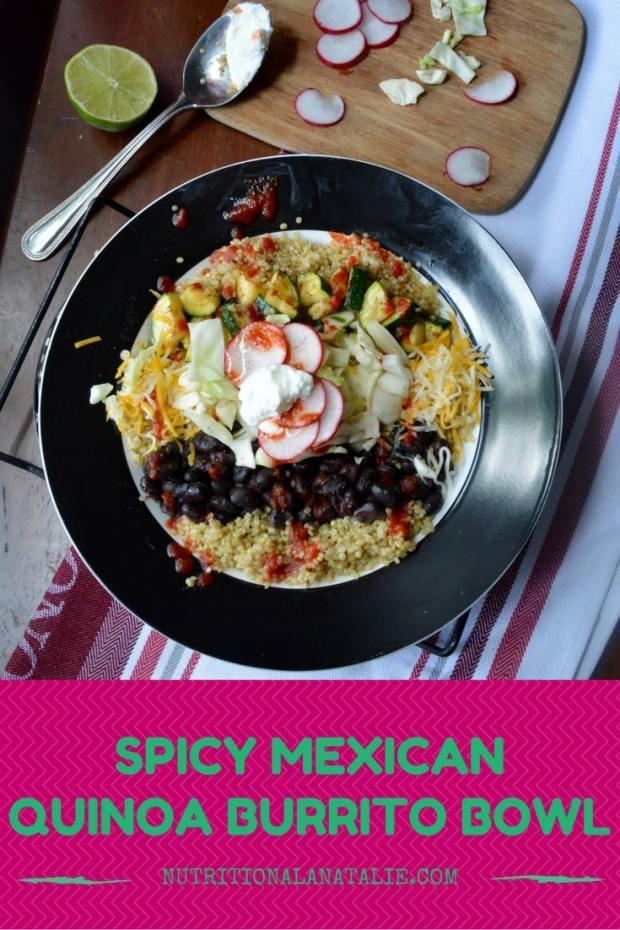 SPICY MEXICANQUINOA BOWL