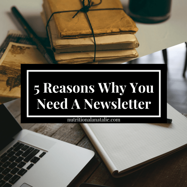why you need a newsletter