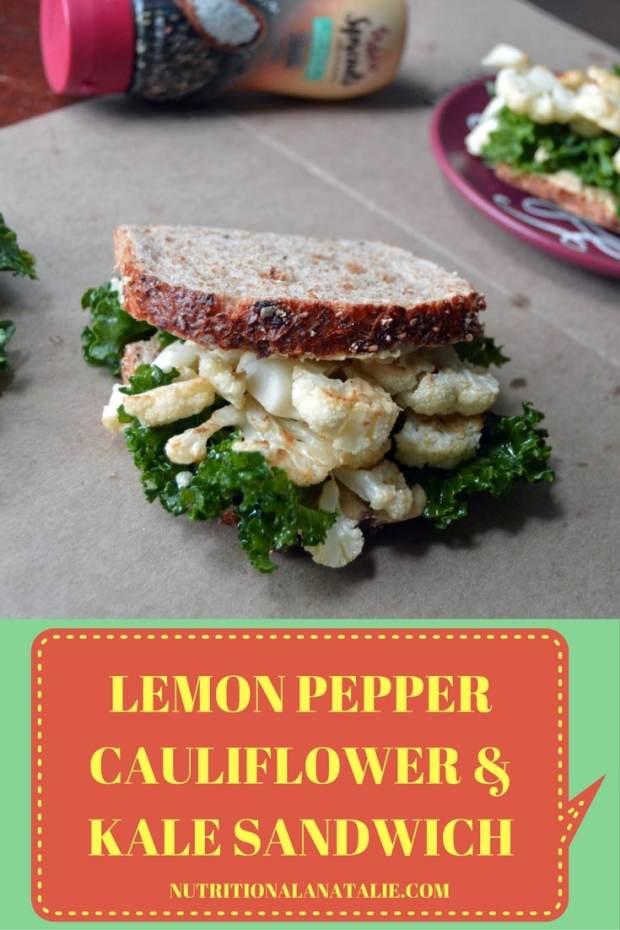 cauliflower sandwich pinterest image