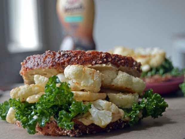 cauliflower steak sandwich