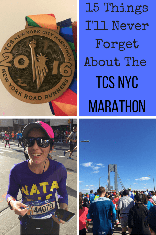 recap of the TCS NYC Marathon