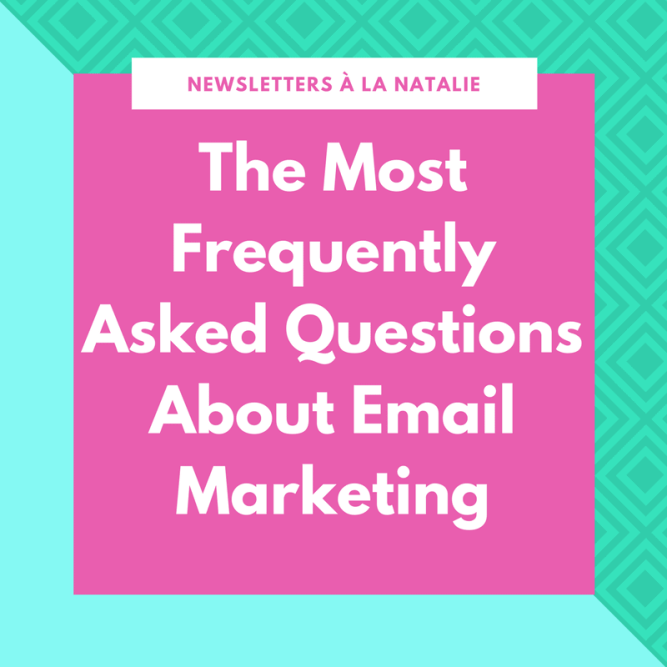 The most FAQ about email marketing