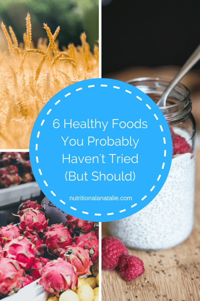 6 healthy & trendy new foods you need to try! Get the facts about kefir, skyr, hemp, jackfruit, teff and sorghum.