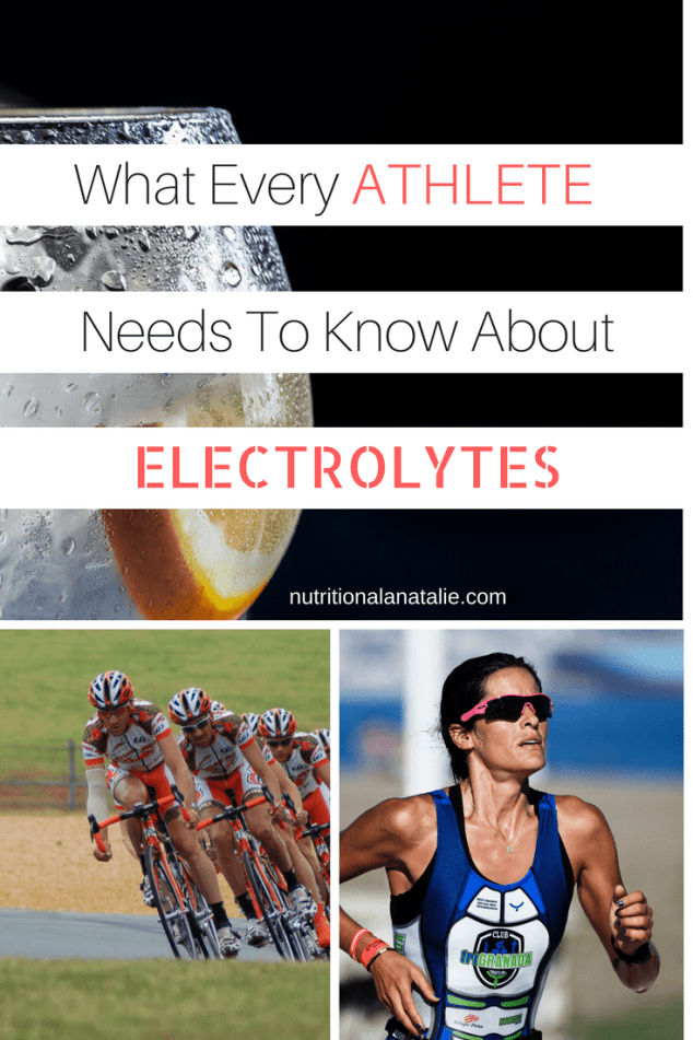 Important information about electrolytes for athletes
