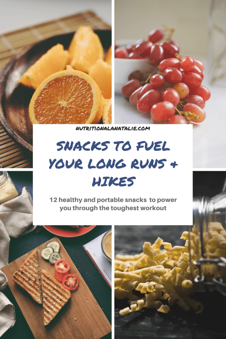 12 snacks to fuel your long runs & hikes