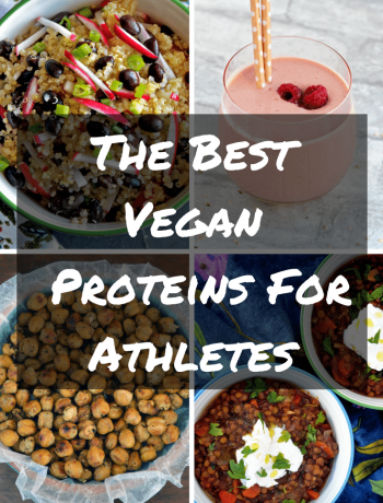 A list of the best vegan proteins for athletes