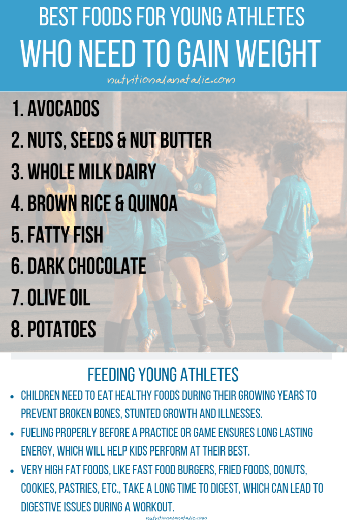 The Best Foods For Young Athletes Who Need To Gain Weight