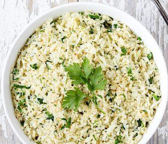 Lemon & Parsley Cauliflower Rice