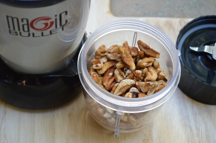 Pecans in Magic Bullet