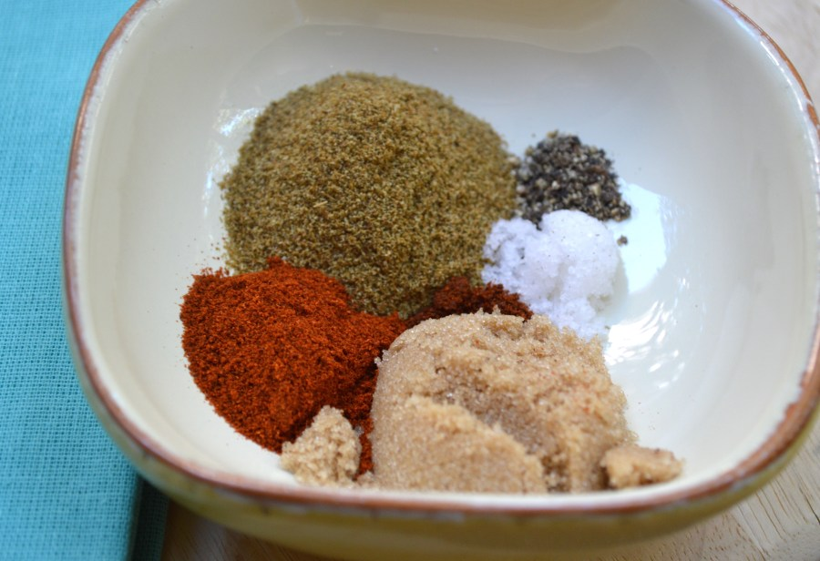 Spices for Black Bean Burgers