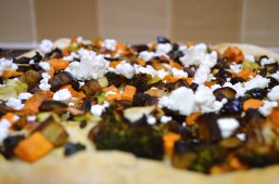 DIY Roasted Veg Pizza