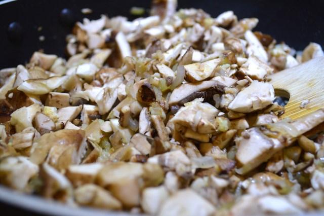 Shallots, Garlic, Mushrooms