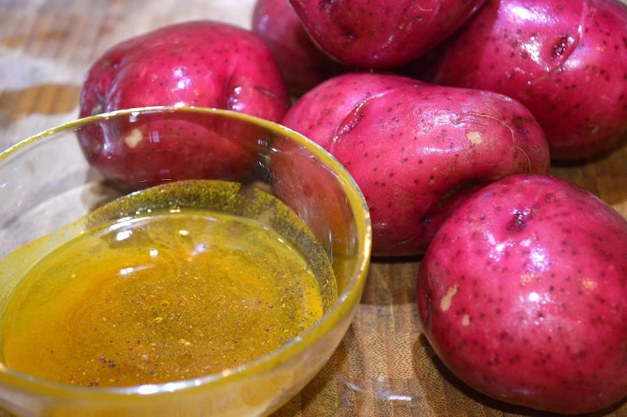 Haldi Aloo Ingredients