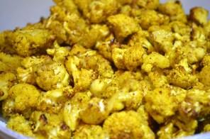 Curry Roasted Cauliflower found in post titled 'Achcha Khana (Good Food)'