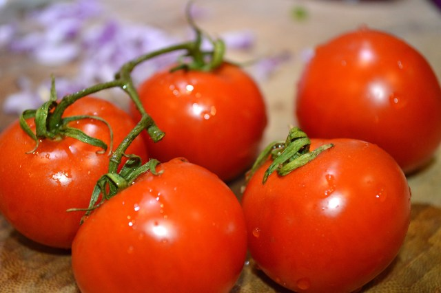 Vine Ripe Tomatoes for Pico de Gallo