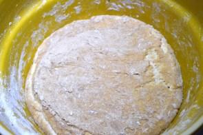 First Sourdough Bread Dough Risen