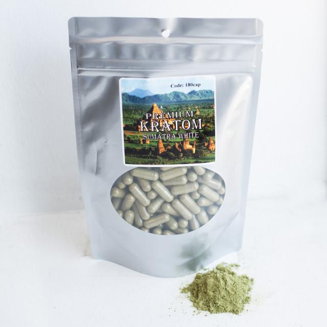 Kratom Capsules White Sumatra - Nutrition City Health Food Store