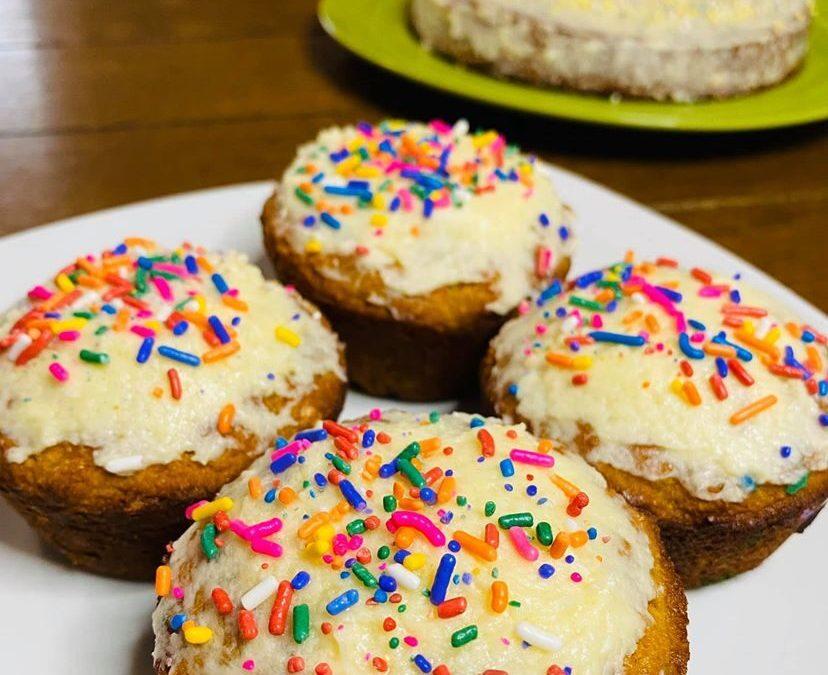 Funfetti Healthy Cake!