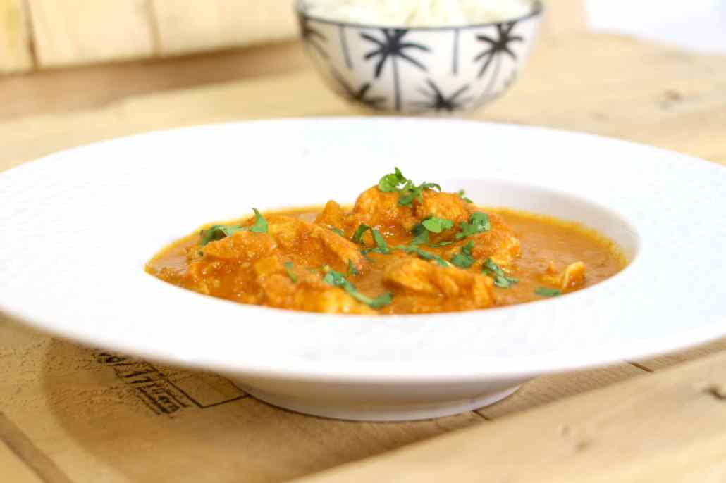 butter chicken ou poulet indien