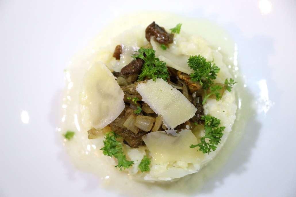 risotto de chou fleur aux cèpes