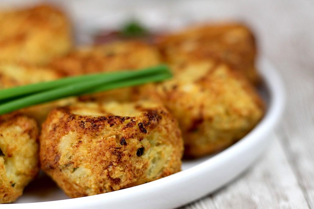 nuggets de chou fleur au parmesan